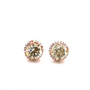 Brown/Champagne Diamond